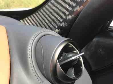 McLaren 720S Luftausströmer