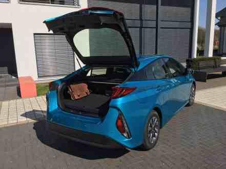 Toyota Prius Plug-in Hybrid Kofferraum