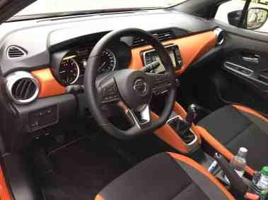 Nissan Micra Mittelkonsole