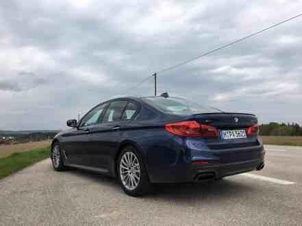 BMW M550i xDrive (G30) 2017