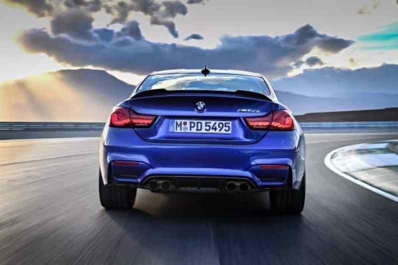 BMW M4 CS Heck