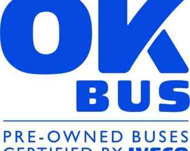 """Iveco mit neuem Gebrauchtwagenlabel """"OK Bus"""""""