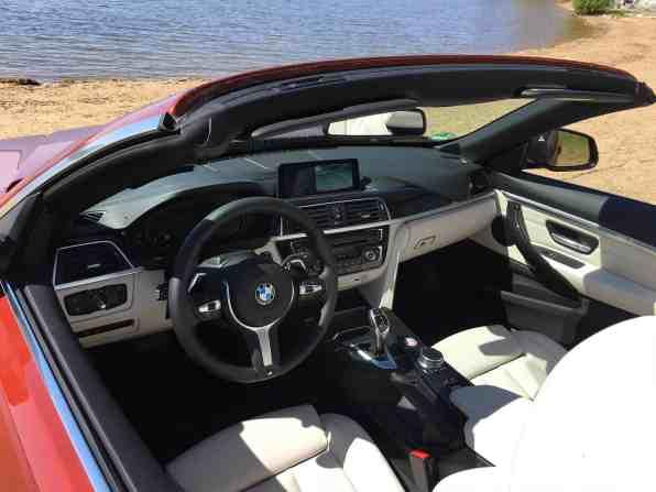 BMW 4er Cabrio (Modell 2017) Innenraum