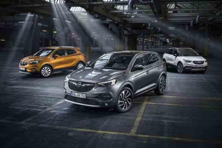 Opel-Trio setzt auf das gewisse X-tra
