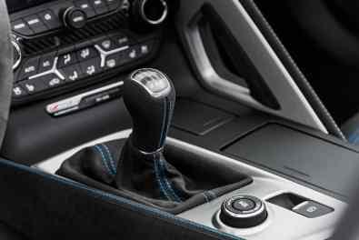 Chevrolet Corvette Carbon 65 Edition Mittelkonsole