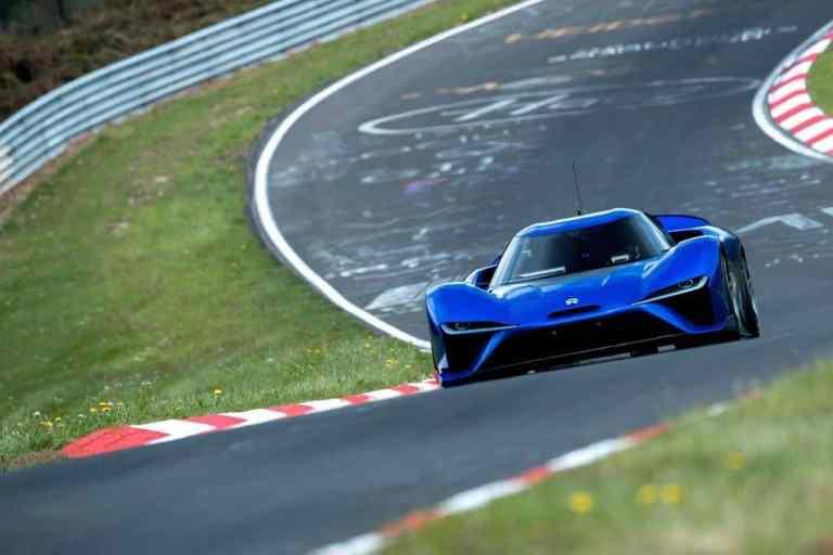 Nio EP9 erzielt Rundenrekord auf der Nürburgring-Nordschleife