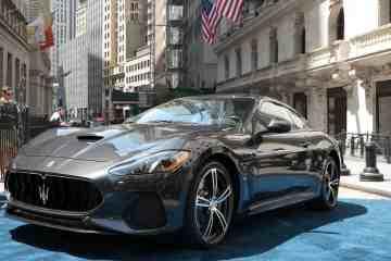 Maserati posiert bei den Brokern