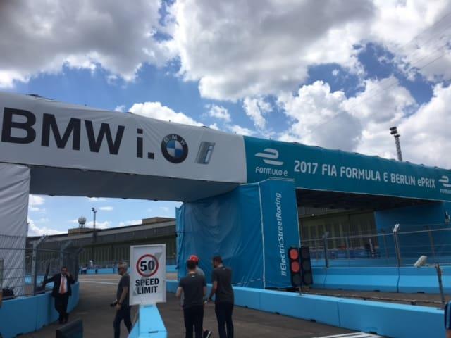FormelE am Berliner Tempelhof - Die Formel1 der Zukunft?