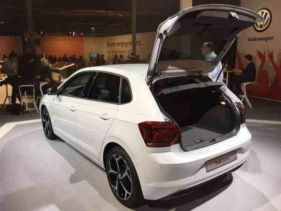 VW Polo Kofferraum