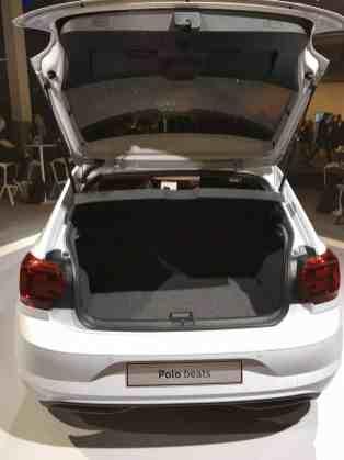VW Polo Gepäckraum