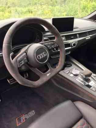Audi RS5 Lenkrad