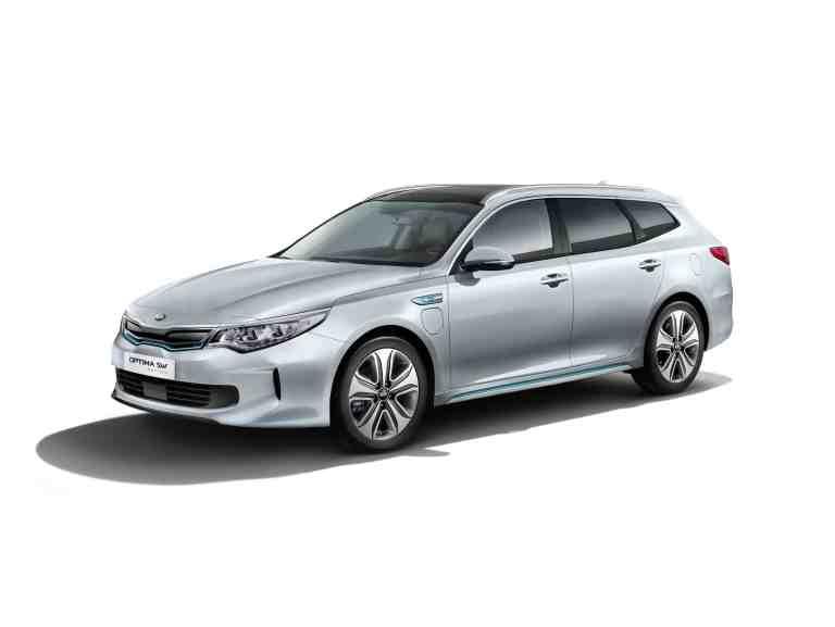 Kia Optima Sportswagon Plug-in-Hybrid beginnt ab 41.940 Euro