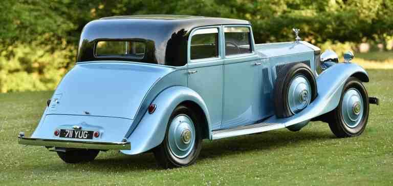Rolls-Royce-Historie: Sir Campbells Phantom II
