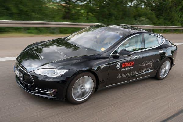 Bosch bringt im kommendem Jahr Robo-Taxis auf die Straße