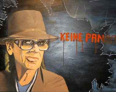 Keine Panik: Lindenbergs Panamera zu haben
