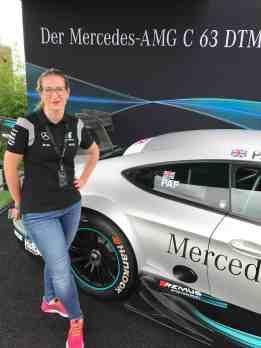 DTM Wochenende am Nürburgring Tina Leicht
