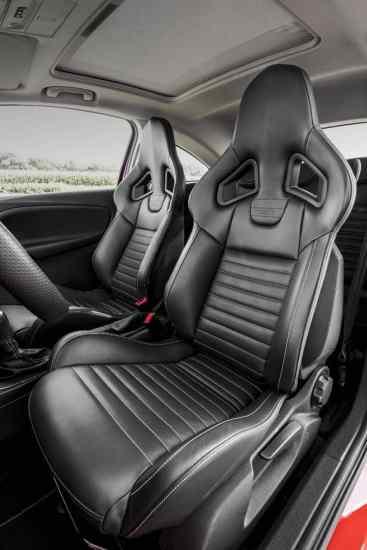 Neuer Opel Corsa S Innenraum