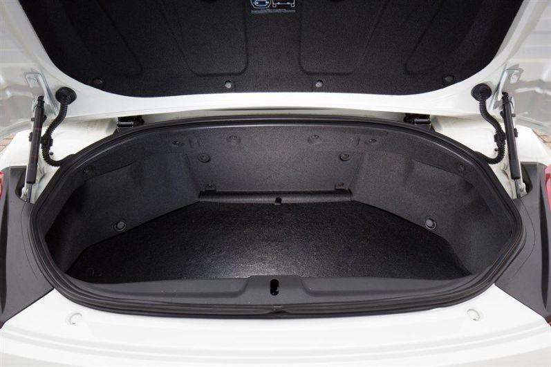 "Nissan 370Z Roadster, als limitiertes Sondermodell ""RS"" Kofferraum"