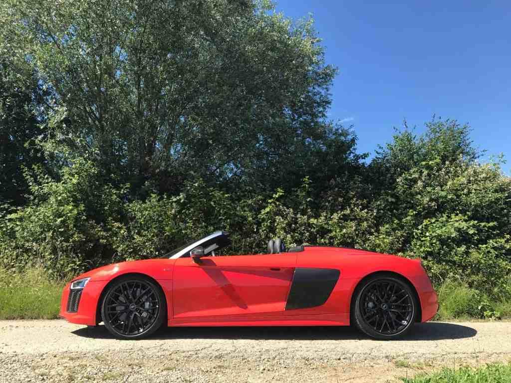 Audi R8 Spyder V10 - Schwächen finden, fällt schwer