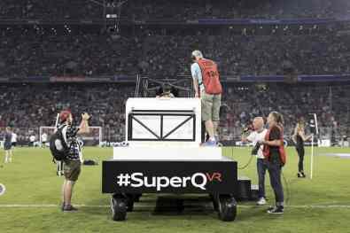 #SuperQ beim Audi Cup