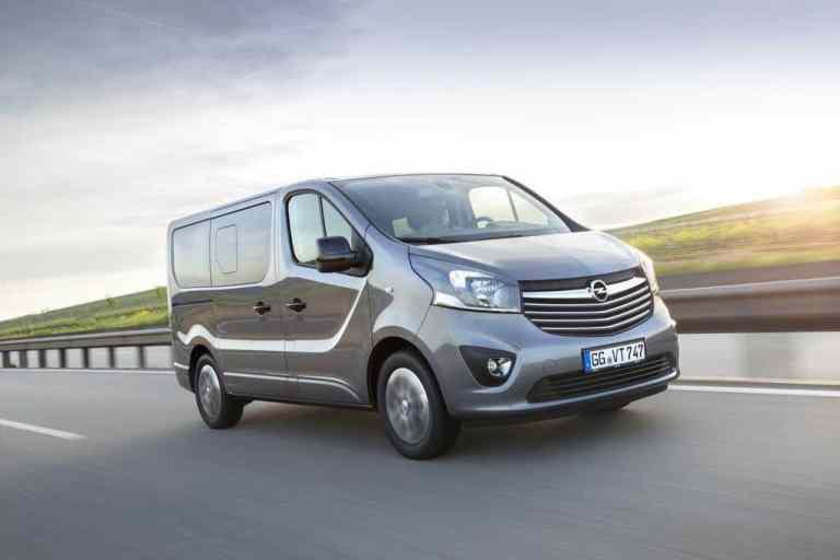 IAA 2017: Opel zeigt neue Vivaro-Varianten