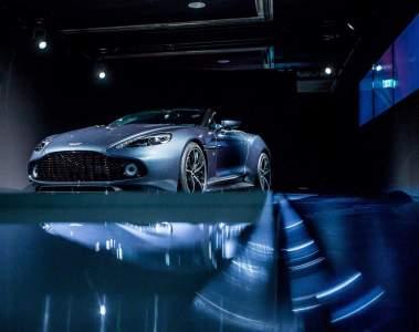 Aston Martin steht über der IAA