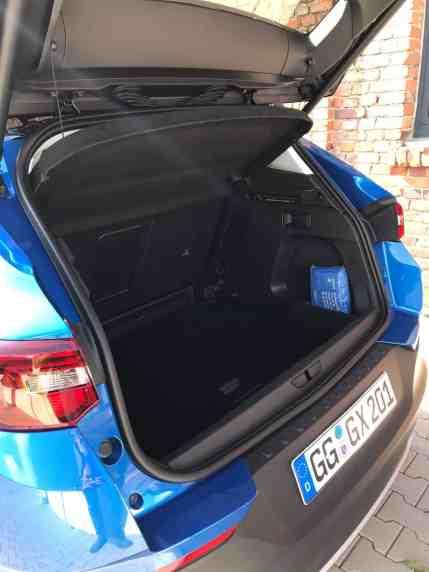 Opel Grandland X, Kofferraum