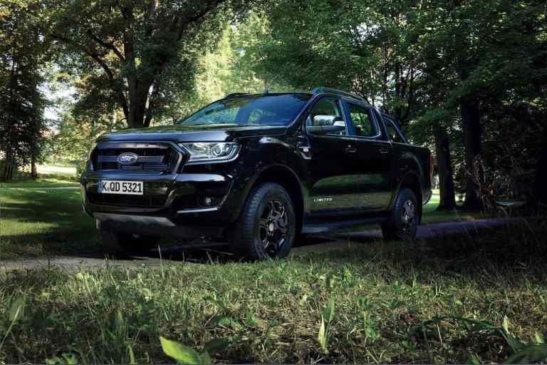 IAA 2017: Ford Ranger 2500-mal ganz in Schwarz