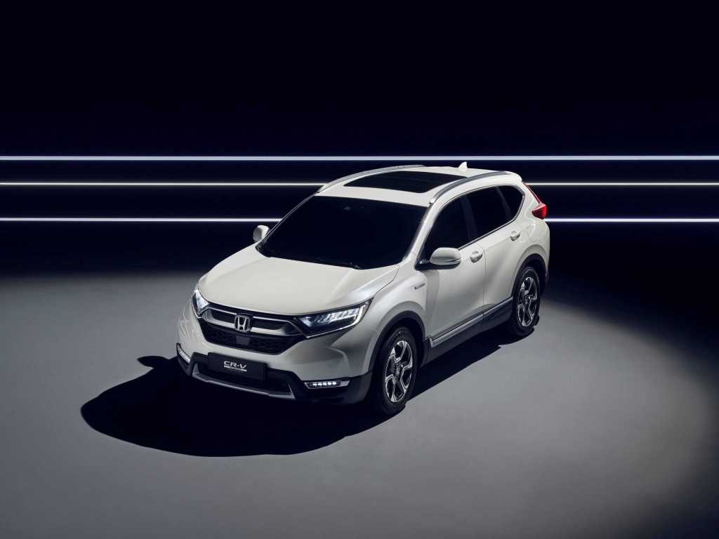 IAA 2017: Honda präsentiert CR-V Hybrid Prototyp