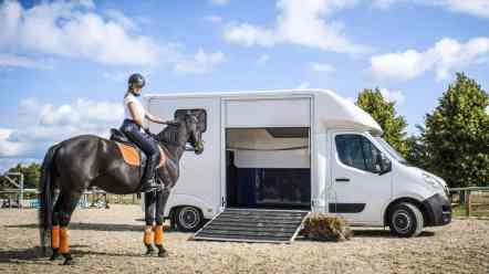 Zertifizierter Umbau: Opel Movano Pferdetransporter des polnischen Spezialisten Lamar.