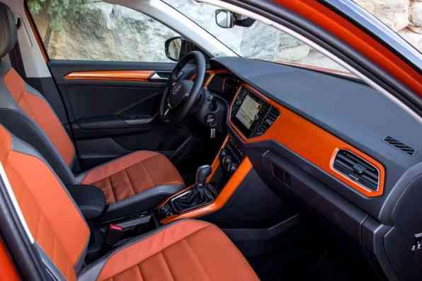 VW T-Roc Innenraum
