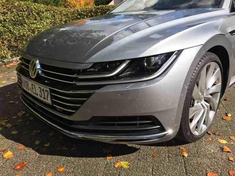 VW Arteon – Schicke Business-Limousine im Coupé Stil