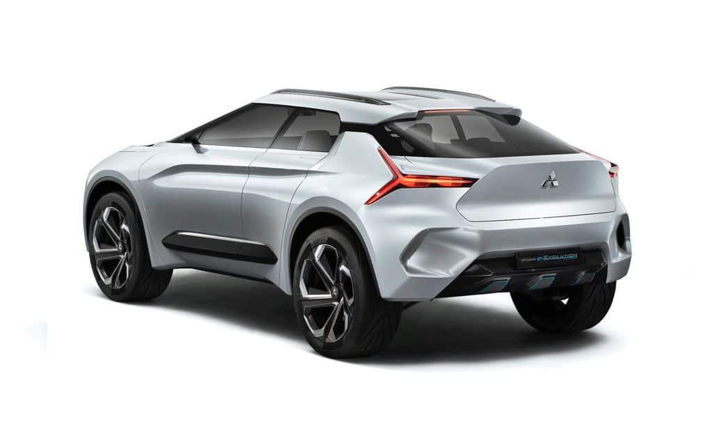 Tokio 2017: Mitsubishi E-Evolution Concept fährt mit künstlicher Intelligenz