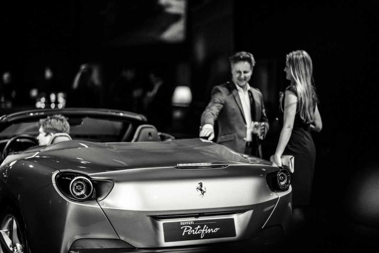 Der neue Ferrari Portofino feiert in Düsseldorf Deutschlandpremiere