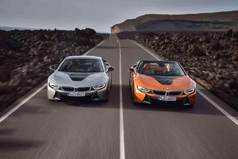 Elektrisches i-Tüpfelchen: BMW i8 auch als Roadster