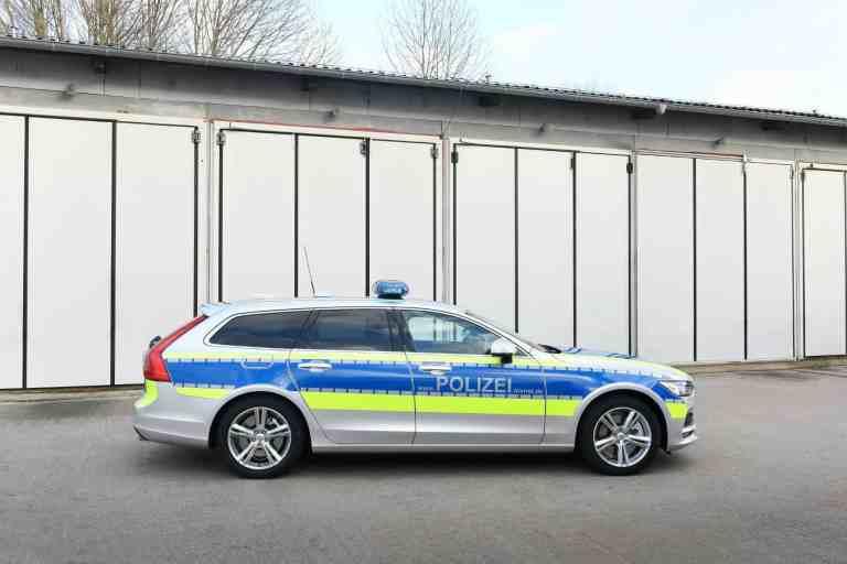Volvo V90: Ein Nordlicht für die Polizei