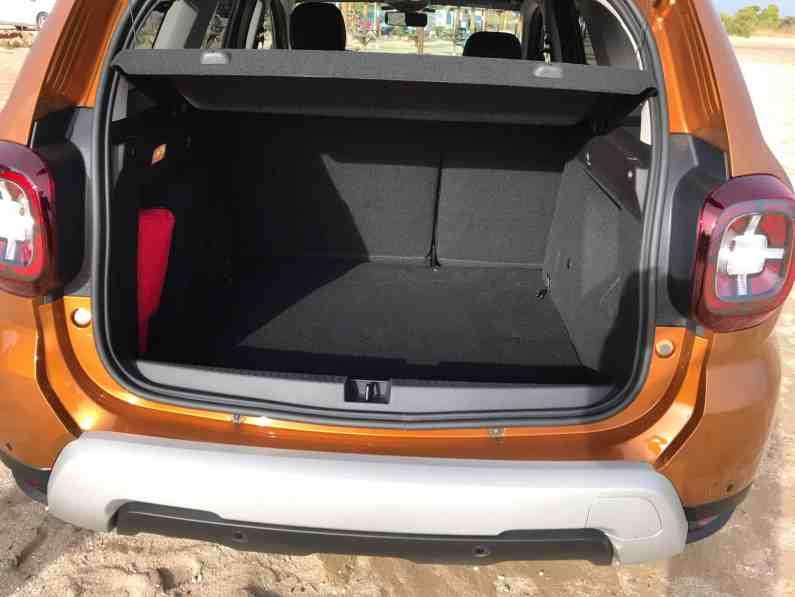 Dacia Duster Kofferraum