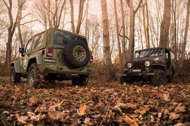 Geiger verwandelt den Jeep in einen Willys zurück