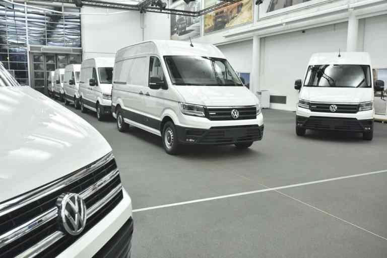Volkswagen liefert erste E-Crafter zum Testen aus