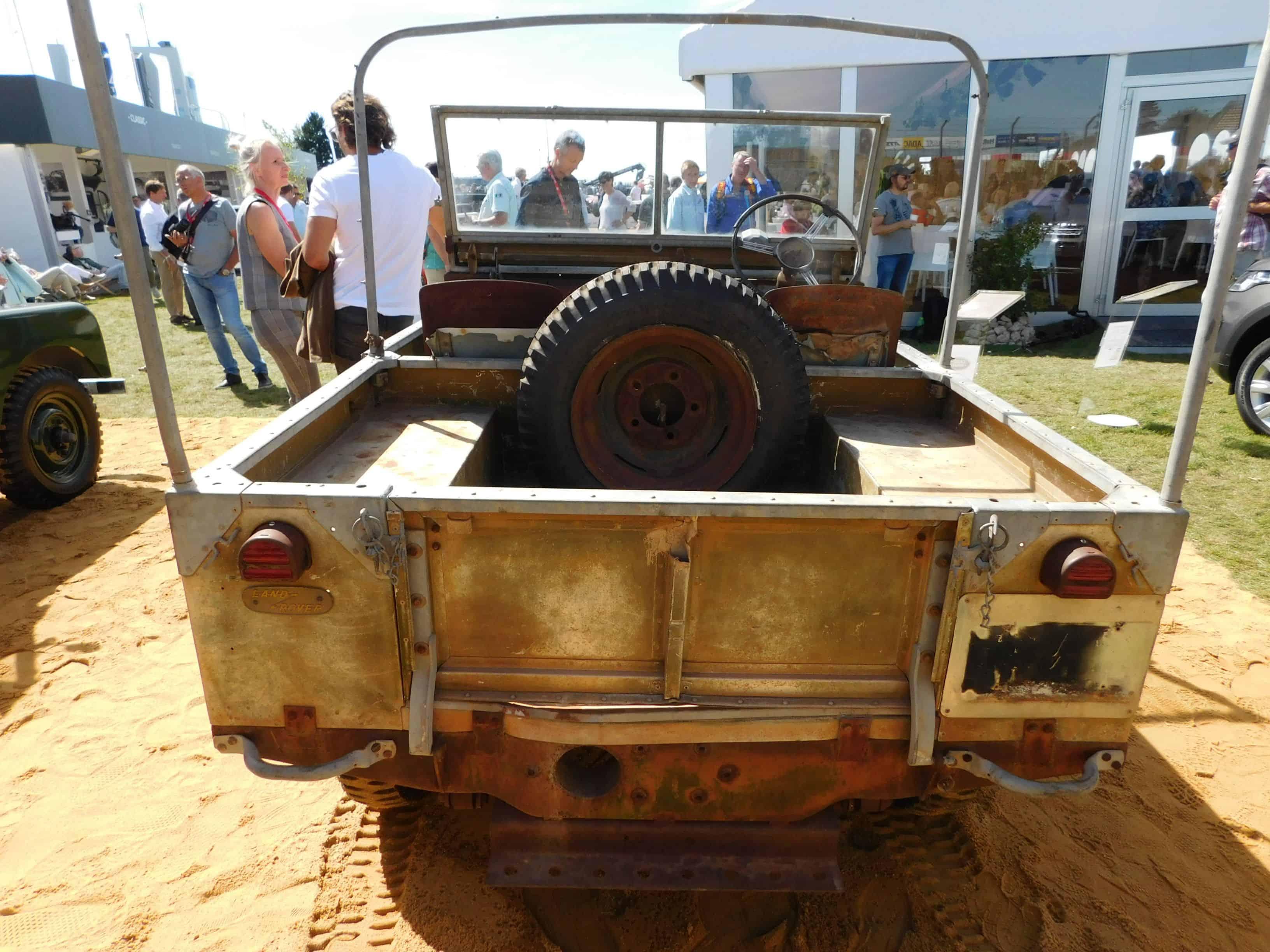 Das schönste Geburtstagsgeschenk macht sich Land Rover selbst