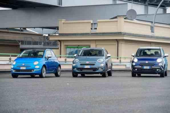 Sondermodelle: Fiat 500 Mirror, Fiat 500 X Mirror und Fiat 500 L Mirror