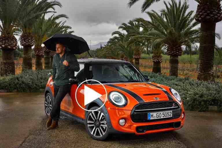 MINI Facelift 2018 - Mit Union Jack am Heck auf Mallorca