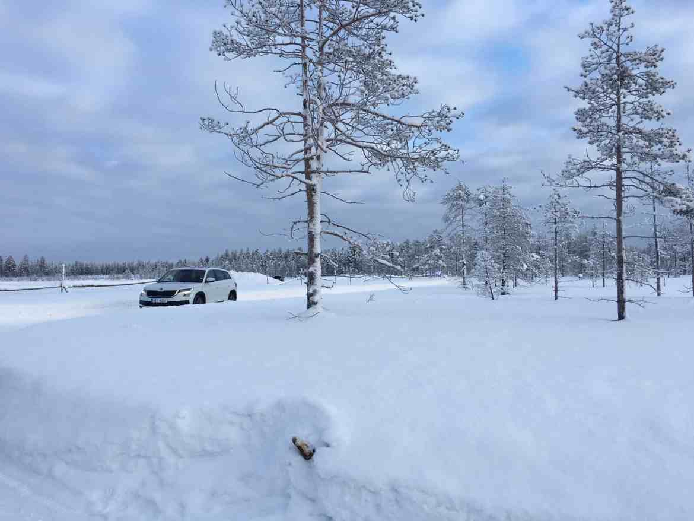 Skoda – Allradtest am Polarkreis