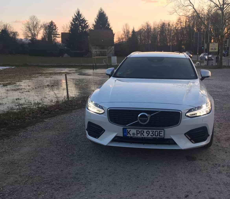 Volvo V90 Plug-in-Hybrid - Praktisch, schick und zukunftstauglich