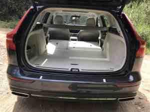 Volvo V60, Gepäckraum