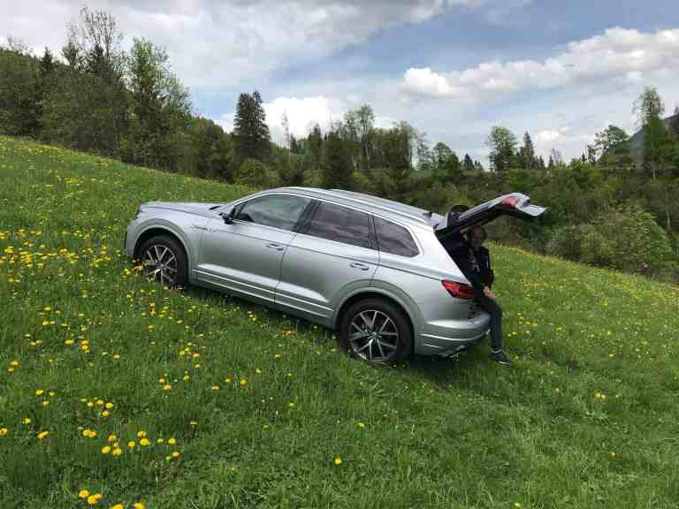 Der brandneue VW Touareg - Wegweisendes Display- und Steuerungssystem