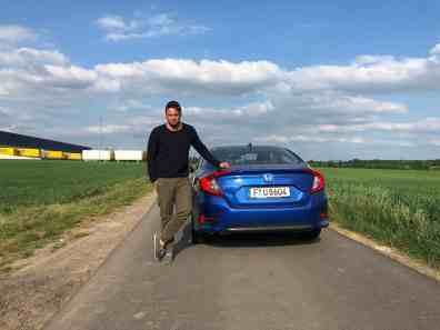 Honda Civic Limousine, Jan Weizenecker