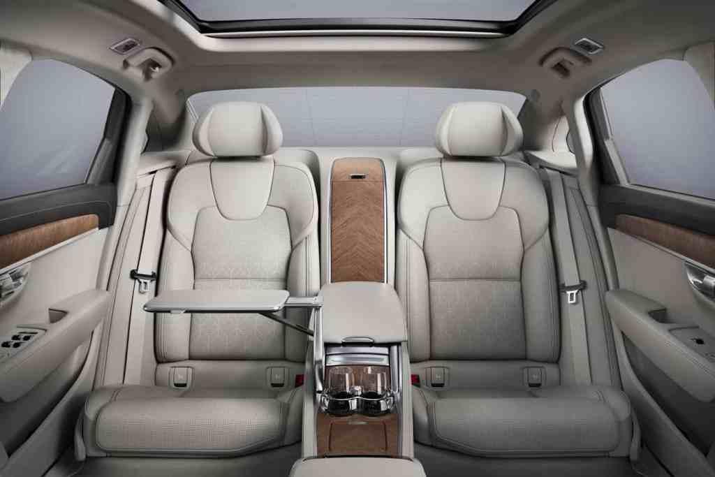 Volvo S90L Excellence: Extralange Luxuslimousine
