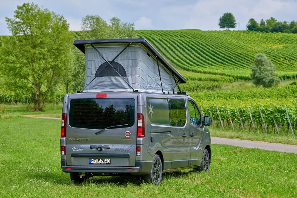 Zuwachs bei Karmann-Mobil: Danny auf Basis des Fiat Talento