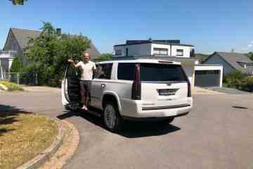 Cadillac Escalade - Wie das Wohnzimmer der Amerikaner